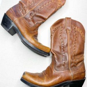 Durango Boots leather vintage